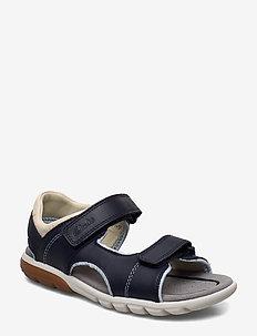 Rocco Wave K - sandals - navy combi