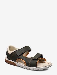 Rocco Wave K - sandals - khaki leather