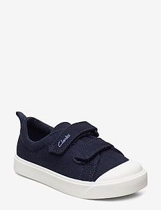 City Bright T - sneakers - navy canvas