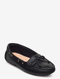 C Mocc Boat - loafers - black leather