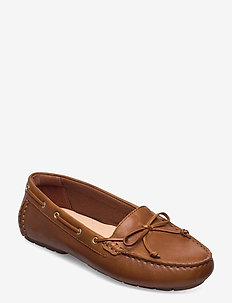 C Mocc Boat - loafers - tan leather