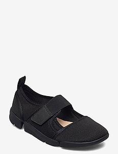 Tri Amelia Bar - ballerinat - black mesh