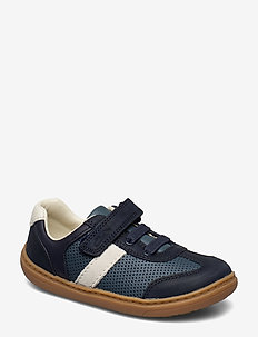 Flash Step T - NAVY COMBI LEA
