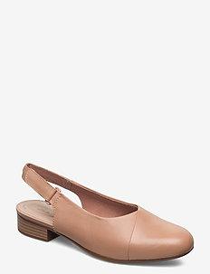 Juliet Pull - ballerinat - praline leather