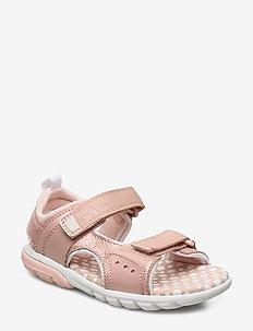 Rocco Tide K - lära-gå-skor - pink