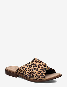 Declan Ivy - flade sandaler - leopard print