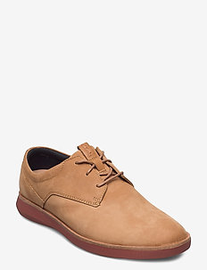 Banwell Lace - chaussures lacées - light tan nubuck