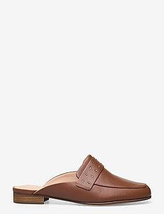 Pure Mule - mules & slipins - tan leather