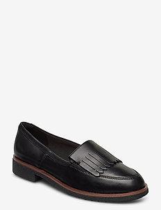 Griffin Kilt - mokasiner - black leather