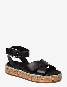 Botanic Poppy - flade sandaler - black