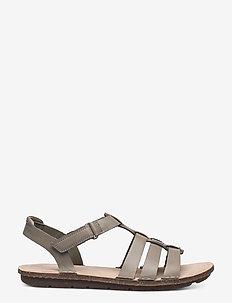 Blake Jewel - platta sandaler - sage