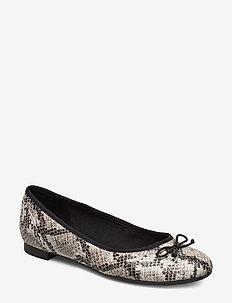 Couture Bloom - ballerinaer - grey snake