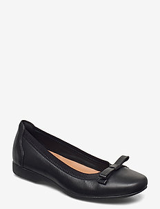 Un Darcey Bow - ballerinas - black leather