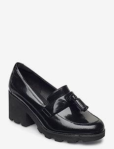 Rene Loafer - klassiske pumps - black pat
