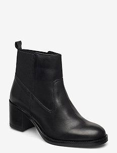Mascarpone2 Lo - enkellaarsjes met hak - black leather