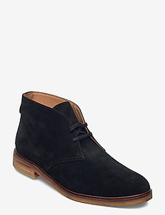 Clarkdale DBT - desert boots - black sde