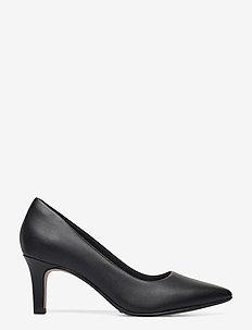 Illeana Tulip - klassiska pumps - black leather
