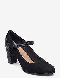 Alayna Shine - klassiske pumps - black combi