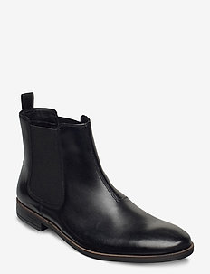 Stanford Top - chelsea boots - black leather