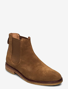 Clarkdale Gobi - chelsea boots - tobacco