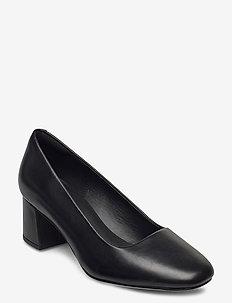Sheer Rose 2 - klassiske pumps - black leather