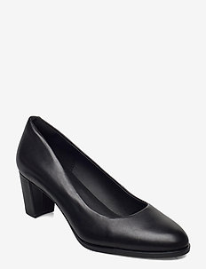 Kaylin60Court2 - klassiske pumps - black leather