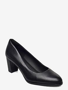 Kaylin60Court2 - classic pumps - black leather
