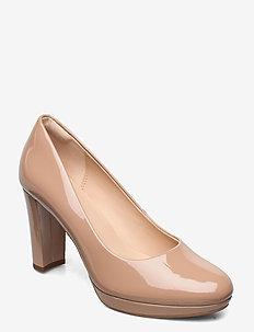 Kendra Sienna - escarpins classiques - praline patent