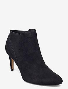 Laina Violet - ankelstøvler med hæl - black sde