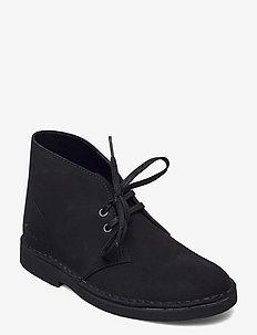 Desert Boot 2 - platta ankelboots - black sde