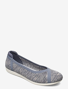 Carly Wish - ballerinas - blue grey