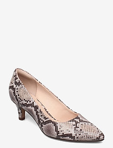 Linvale Jerica - klassiska pumps - natural snake