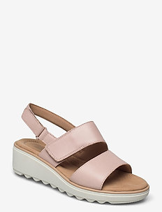 Jillian Pearl - platta sandaler - dusty rose
