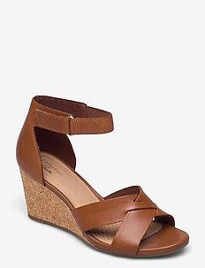 Margee Gracie - kilklackar - tan leather