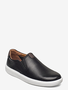 Cambro Step - baskets slip-ons - black leather