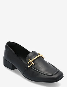 Pure Block - loafers - black leather