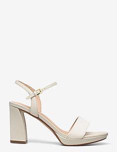 Vista Strap - högklackade sandaler - white combi