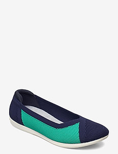 Carly Wish - ballerinas - navy combi