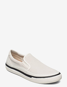 Aceley Step - baskets slip-ons - white canvas