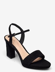Vista Strap - högklackade sandaler - black sde