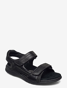 Nature Trek - sandales - black nubuck