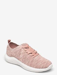 Nova Glint - låga sneakers - light pink