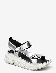TriComet Go - platta sandaler - silver metallic