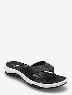 Sunni Surf - platta sandaler - black