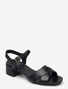 Sheer35 Strap - högklackade sandaler - black smooth