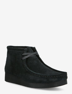 Wallabee Boot2 - snörskor - black suede