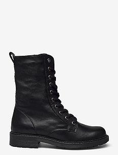 Orinoco2 Style - platta ankelboots - black leather