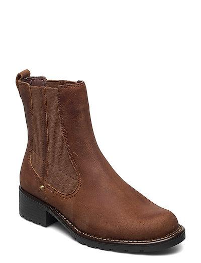 Orinoco Club Shoes Chelsea Boots Braun CLARKS