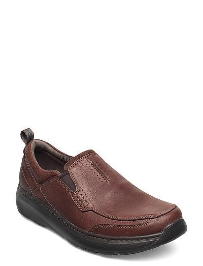 Charton Step Niedrige Sneaker Braun CLARKS