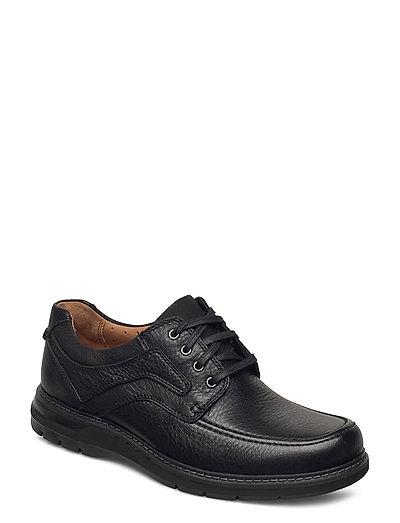Un Ramble Lace Shoes Business Laced Shoes Schwarz CLARKS